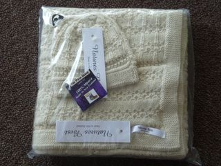 Baby Set Blanket and Hat