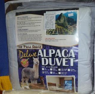 100% Alpaca Double Duvet