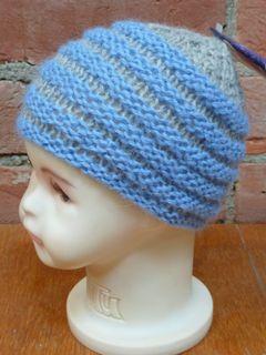 Handmade Beehive Baby Hat