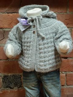 Handmade Hooded Baby Jacket