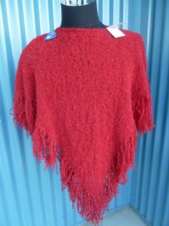 Hand made Boucle Poncho