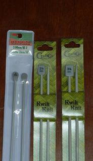 Knitting Needles 2.25 to 8mm
