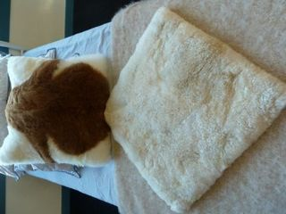 Real Alpaca Hide Cushion Covers