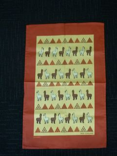 Alpaca Picture Tea Towel