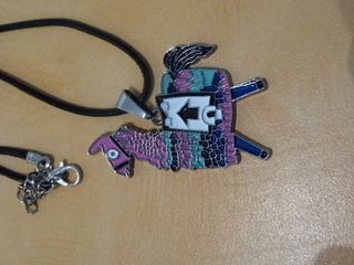 Coloured Llama Necklace