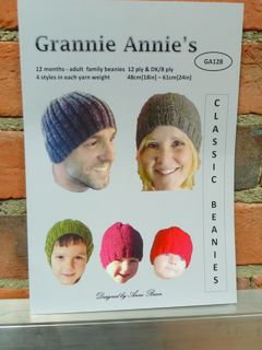 Classic Family Beanies 12 ply & 8 ply