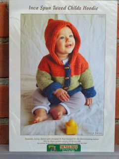 Child's Tweed Hoodie