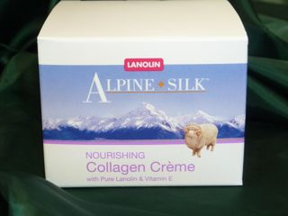 Alpine Silk Collagen Creme 100gr tub