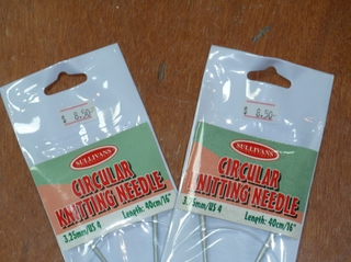 Circular Needles 3.25 mm to 9 mm