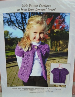 Child's One Button Cardi
