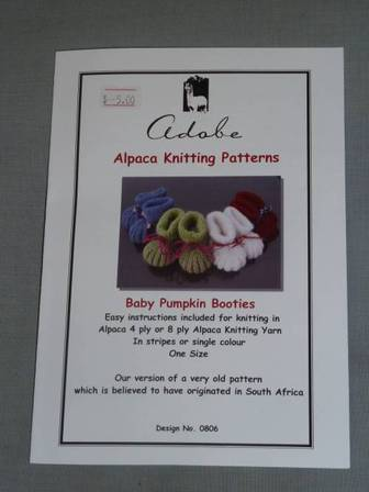 Baby Pumpkin Booties