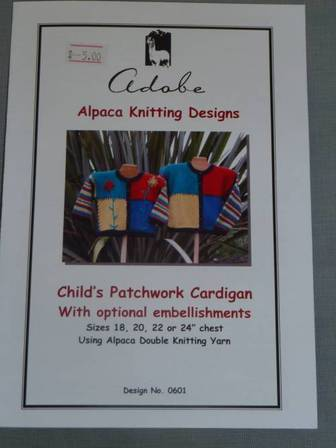 Child's Patchwork Cardi