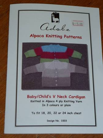 Baby/Child V neck Cardi