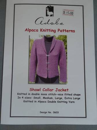 Ladies Shawl Collar Jacket